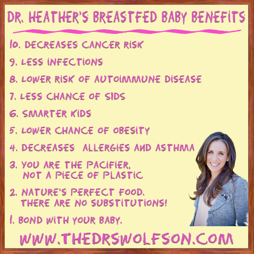 10 Tips on Breastfeeding
