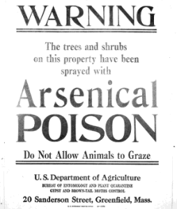 how to get rid of arsenic