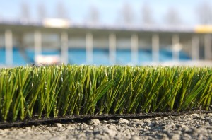 Artificial turf may contain lead