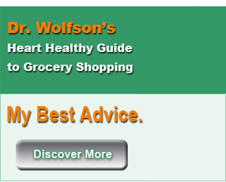 Dr. Wolfson Heart Healthy Guide to Grocery Shopping