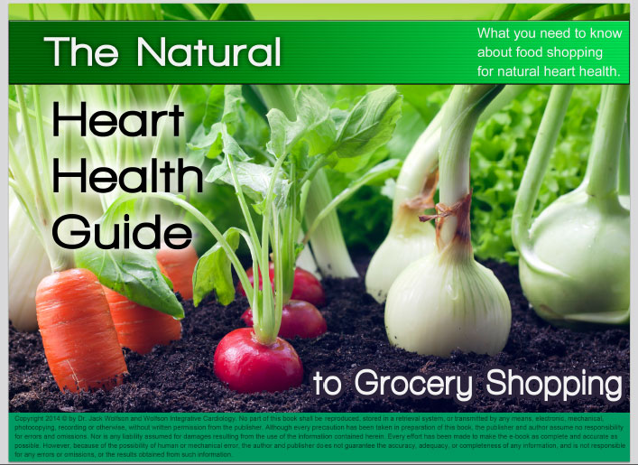 The Natural Heart Health Guide to Grocery Shopping Ebook